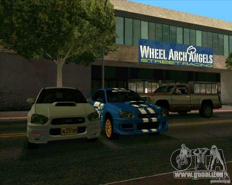 Subaru Impreza WRX STi Tunable für GTA San Andreas rechten Ansicht