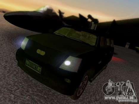 Suv Call Of Duty Modern Warfare 3 für GTA San Andreas