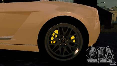 Lamborghini Gallardo Hamann für GTA 4 Rückansicht