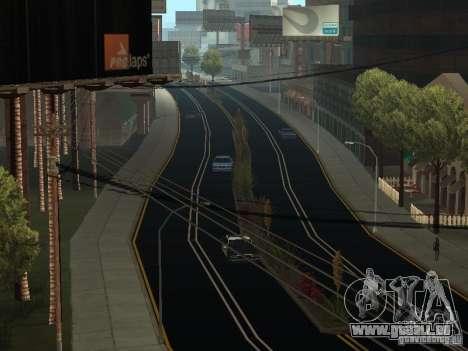 New Roads in San Andreas pour GTA San Andreas deuxième écran