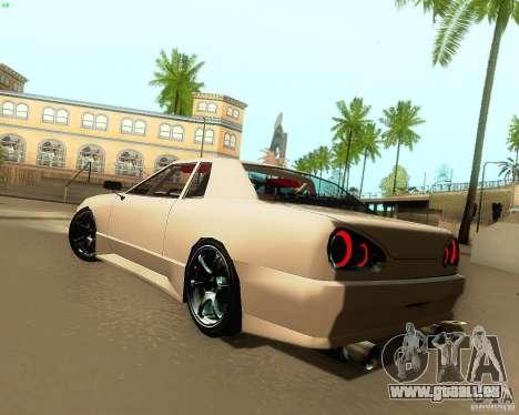 Elegy Drift Korch für GTA San Andreas rechten Ansicht