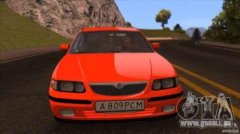 Mazda 626 Stock pour GTA San Andreas vue de droite
