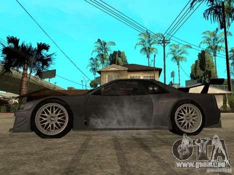 Nissan Skyline R34 GT-R für GTA San Andreas linke Ansicht