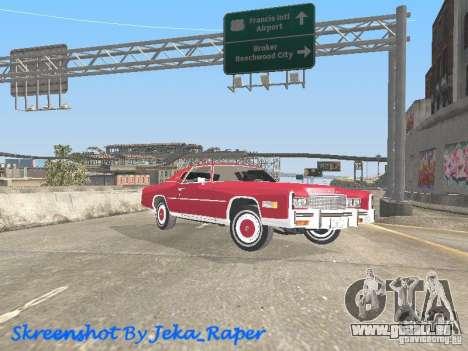 Cadillac Eldorado pour GTA San Andreas