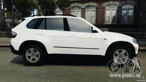 BMW X5 xDrive48i Security Plus für GTA 4 linke Ansicht