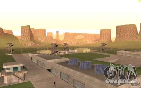 New desert pour GTA San Andreas cinquième écran