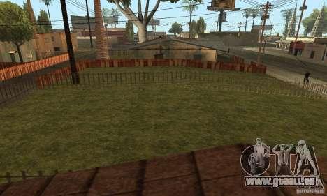 Grove Street 2013 v1 pour GTA San Andreas septième écran