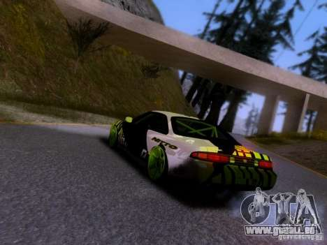 Nissan Silvia S14 Matt Powers v3 für GTA San Andreas linke Ansicht