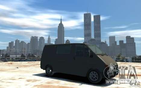 Ford Transit 1999 für GTA 4 rechte Ansicht