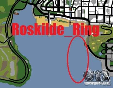 Anneau de Roskilde pour GTA San Andreas cinquième écran