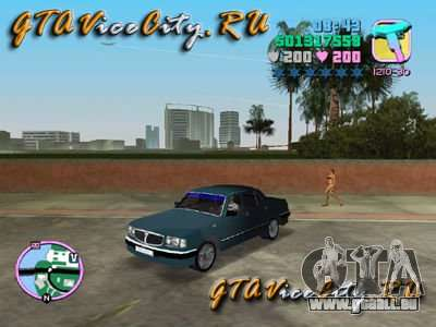 Gaz Volga 3110 pour GTA Vice City