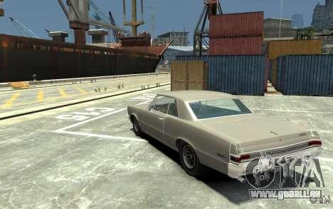 Pontiac GTO v1.1 pour GTA 4 Vue arrière de la gauche