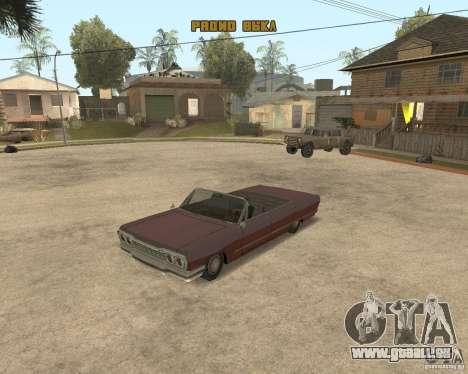Extreme Car Mod (Single Player) für GTA San Andreas her Screenshot