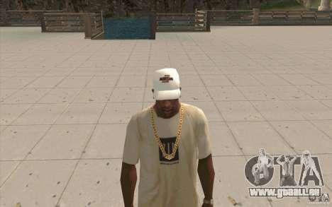 Nfsu2 Cap weiss für GTA San Andreas zweiten Screenshot