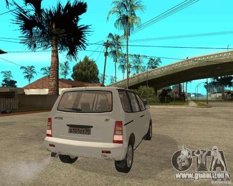 VAZ 2120 « Nadejda » pour GTA San Andreas sur la vue arrière gauche