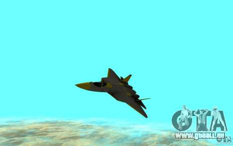 Su Pak-Fa t-50 pour GTA San Andreas laissé vue