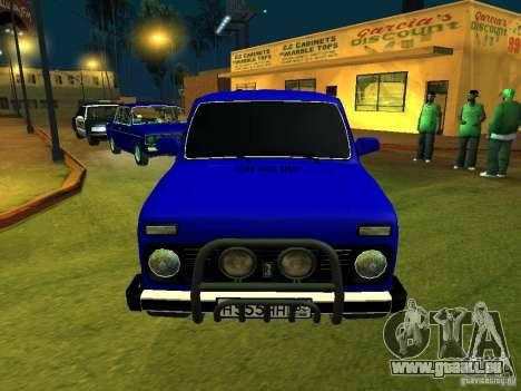 VAZ 21214 Niva für GTA San Andreas linke Ansicht