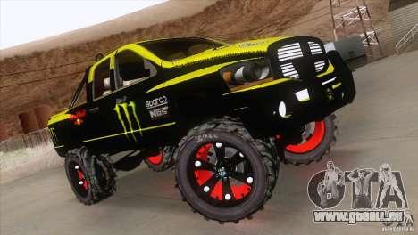 Dodge Ram 4x4 für GTA San Andreas Rückansicht