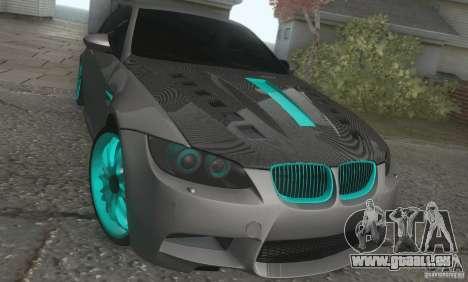 BMW M3 E92 Hellaflush v1.0 pour GTA San Andreas