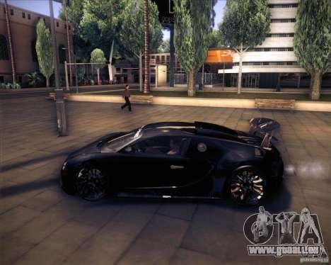 Bugatti Veyron Super Sport pour GTA San Andreas vue intérieure