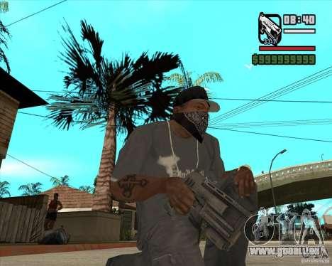 Armes de Pak de Fallout New Vegas pour GTA San Andreas sixième écran