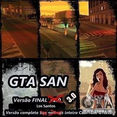 Todas Ruas v3.0 (Los Santos) für GTA San Andreas