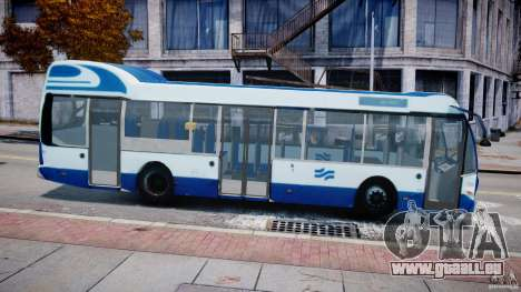 DAF Berkhof City Bus Amsterdam für GTA 4 linke Ansicht