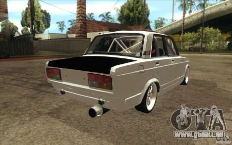 VAZ Lada 2107 Drift für GTA San Andreas Seitenansicht