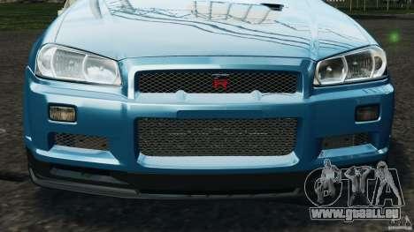 Nissan Skyline GT-R R34 2002 v1.0 pour le moteur de GTA 4