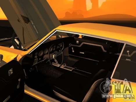 Chevrolet Chevelle SS 1970 v.2.0 pjp1 pour GTA San Andreas vue arrière