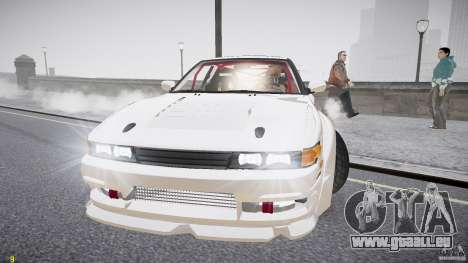 Nissan Sileighty pour GTA 4 est un côté