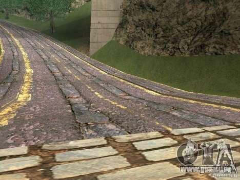 Construction de nouvelles routes en Vajnvude pour GTA San Andreas deuxième écran