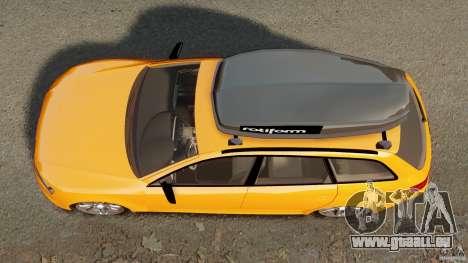 Audi A6 Avant Stanced 2012 v2.0 für GTA 4 rechte Ansicht