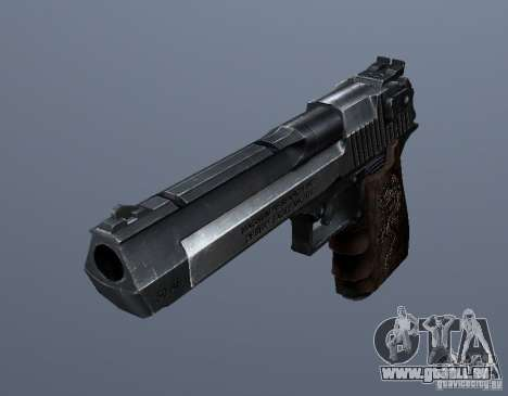 Desert Eagle - Old model für GTA San Andreas zweiten Screenshot