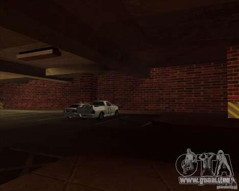 Nouvelle police garage LSPD pour GTA San Andreas quatrième écran