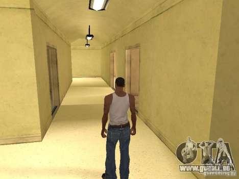 L'entrée à l'hôpital de Los Santos pour GTA San Andreas sixième écran
