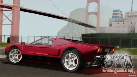 Bullet GT from TBOGT pour GTA San Andreas laissé vue
