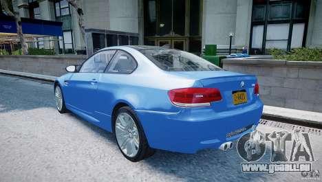 BMW M3 E92 2008 v.2.0 für GTA 4 hinten links Ansicht