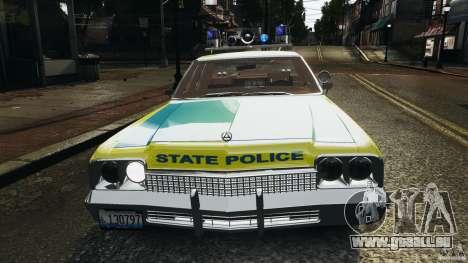 Dodge Monaco 1974 Police v1.0 [ELS] für GTA 4 Räder