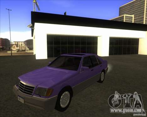 Mercedes Benz 400 SE W140 (Wheels style 3) pour GTA San Andreas