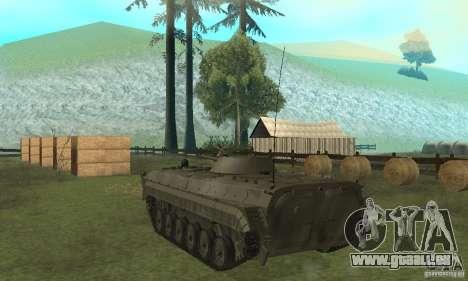 BMP-1 grau für GTA San Andreas zurück linke Ansicht