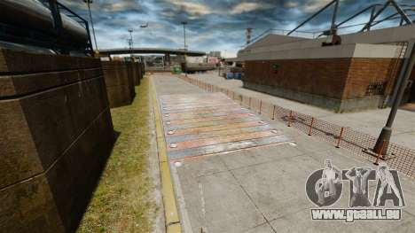 Piste de rallye pour GTA 4 cinquième écran