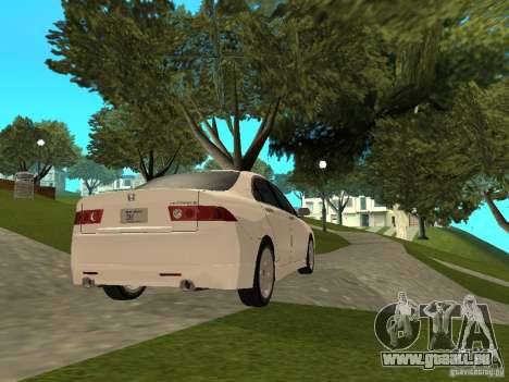 Honda Accord Type S 2003 für GTA San Andreas linke Ansicht