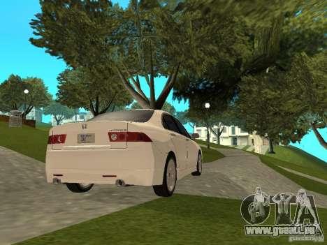 Honda Accord Type S 2003 pour GTA San Andreas laissé vue