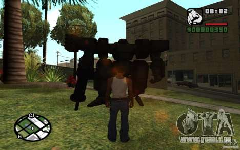 Exosquelette pour GTA San Andreas deuxième écran