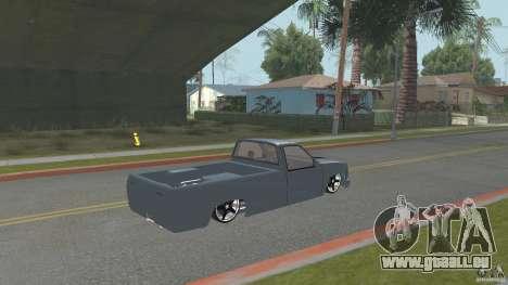 Chevrolet Silverado Mini Truckin 1996 pour GTA San Andreas laissé vue