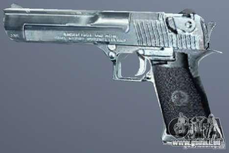 Desert Eagle Silber für GTA San Andreas zweiten Screenshot