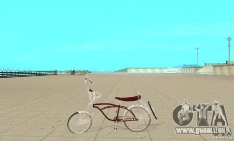 Low Rider Bike für GTA San Andreas linke Ansicht