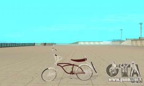 Low Rider Bike pour GTA San Andreas laissé vue