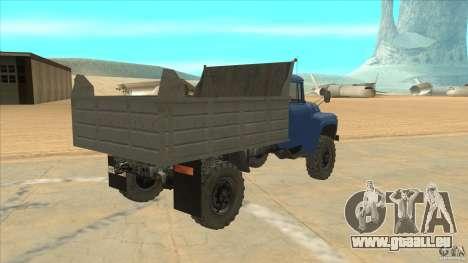 ZIL-MMZ-4502-Allradantrieb für GTA San Andreas rechten Ansicht